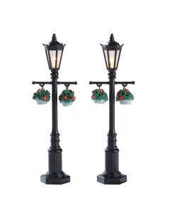 Old English Lamp Post - 2pc