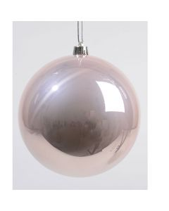 Shiny Shatterproof Bauble - Pink 140mm