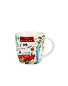 At Your Leisure Squash Mug The Mechanic