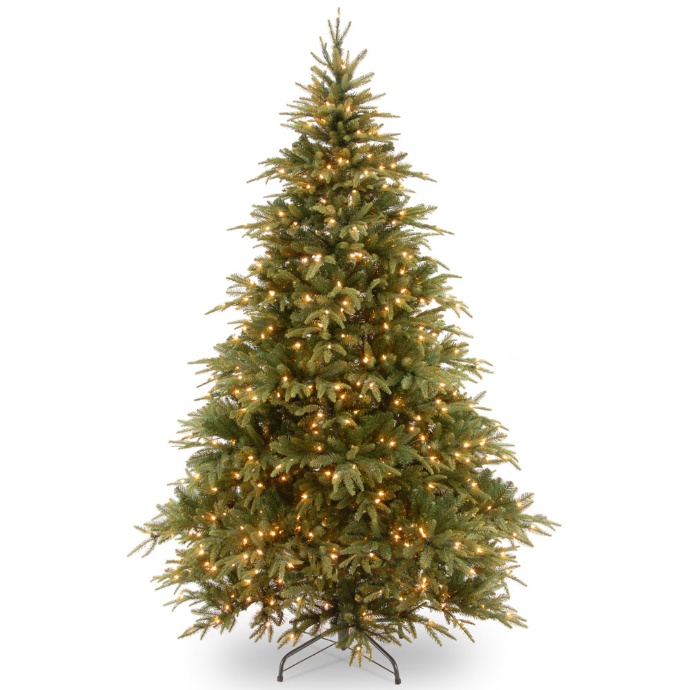 Artificial Christmas Trees Uk.Pre Lit Feel Real Weeping Spruce Christmas Tree 7 5ft